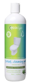 EcoLogic Toilet Cleaning gel Pine Lemon Scented Gum