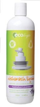 EcoLogic Dishwash Liquid Australian Lavender