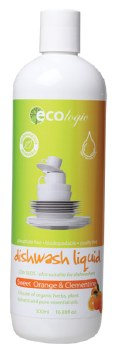EcoLogic Dishwash Liquid Sweet Orange and Clementine