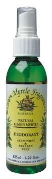 Lemon Myrtle Deodorant 125ml