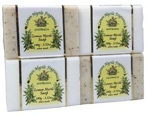 Lemon Myrtle Natural Soap (Scrub) 100g