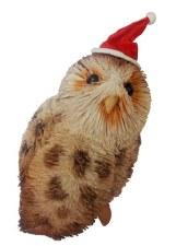 Christmas Ornament Tawny Owl