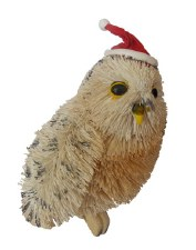 Christmas Ornament White Owl