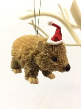 Animal Ornament Xmas Wombat