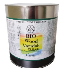 BIO WOOD VARNISH 4L Exterior