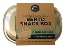 Bento Box S/steel 3compartment