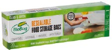 Resealable Food Storage bags