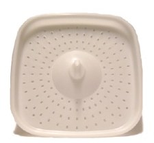Bokashi Bucket Part - Grate White