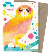 Greeting Card - Boobook Owl