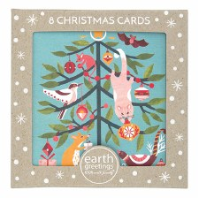 Christmas Cards Set 8 Festive Frolic