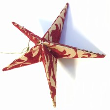 Scented Star - Red - Christmas