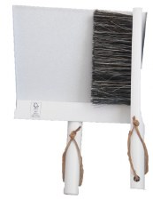 Dustpan and Brush White