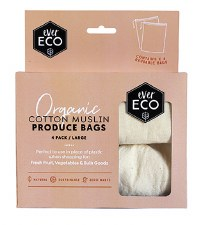 EVER ECO Reusable Muslin Produce Bags