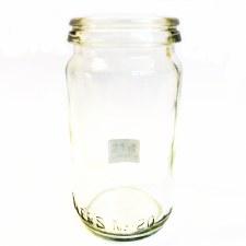 Fowlers Vacola Size 3 Preserving Bottle #20 - Mason Jar
