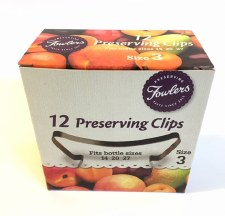 Fowlers Vacola Size 3 Clip 12 pack