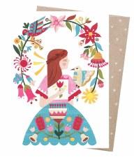 Greeting Card - Flowering Arbour