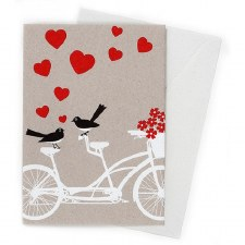 Greeting Card - Bicycle Built for Two