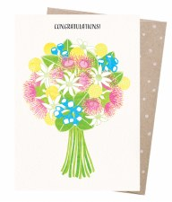 Greeting Card - Congratulatory Bouquet