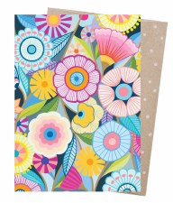 Greeting Card - Flower Field
