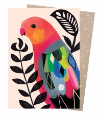 Greeting Card - King Parrot
