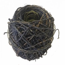 Hemp Ball of Twine Small Dark Blue