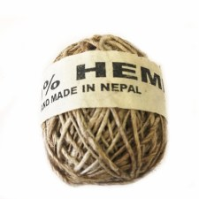 Hemp Ball of Twine Small Natural