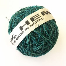 Hemp Ball of Twine Large Teal