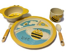 Childs Dinner Set Bee