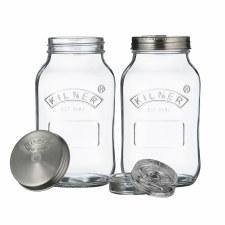 Kilner Ferment Jars Set 2 x 1L