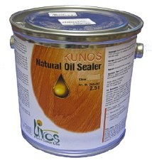 Kunos Natural Oil Sealer Clear 2.5ltr