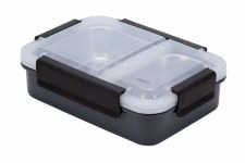 Lunchbox - Divided Leakproof Grey