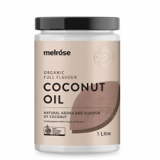 Coconut Oil Organic Full Flavour 1 Litre
