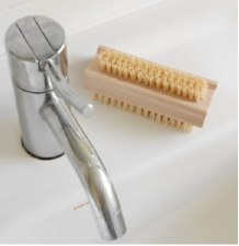 Nail Brush Natural Fibre