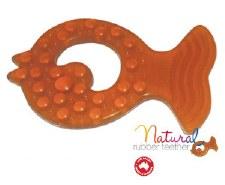 Natural Rubber TeethingFish x2