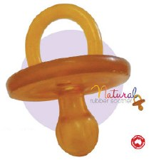 Natural Dummy - Rounded, 3-6mo