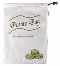 Fruit and Veg Bag - Potato Blackout lining