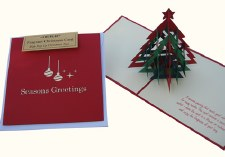 Scented Christmas Card