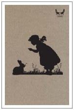 TeaTowel - Bunny, Linen