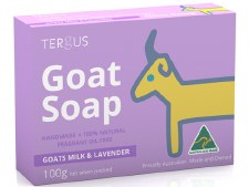 Goats Milk Soap with Lavender