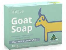 Goats Milk Soap with Lemon Myrtle