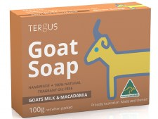 Goats Milk Soap with Macadamia