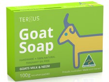 Goats Milk Soap with Neem