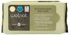 Wotnot Baby Wipes 70s Biodegradable