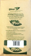 Waxed Reusable Veggie Wraps x4