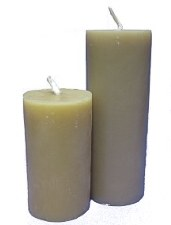 Beeswax Pillar Candle 24hr