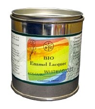 Bio Enamel Lacquer 250ml White Matt