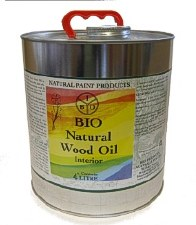 Bio Natural Wood Oil Interior 4L