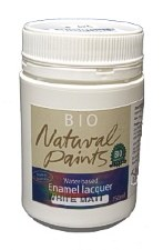 Bio Enamel Lacquer Matt White 250ml Water-based