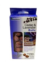 Cedar Fresh Cedar Moth Balls Pack of 18