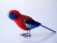 Animal Crimson Rosella 11cm